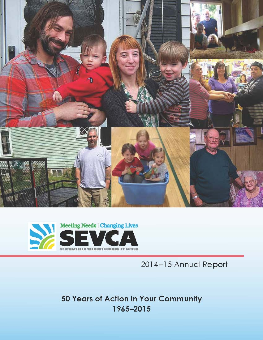 SEVCA2014 15AnnualReport cover